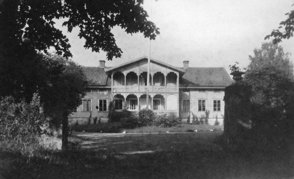 Attarps gård 1924. Foto: Knut Björlingsson
