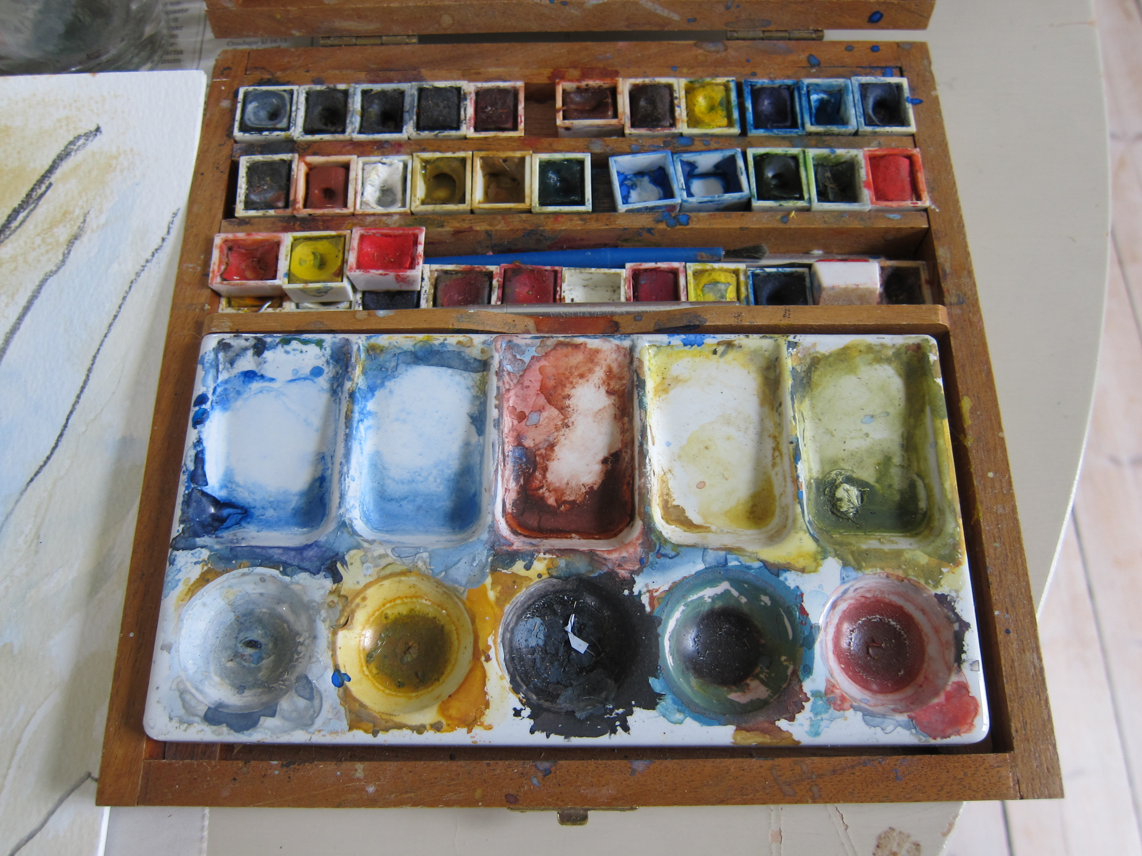 Roland Englunds färgpalett